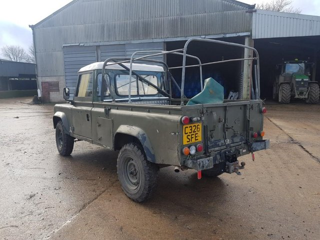 Image 6 of Land Rover 110 Soft Top & P/Up H/Top 1986 #108