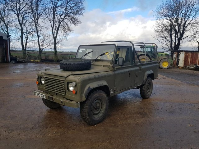 Image 7 of Land Rover 110 Soft Top & P/Up H/Top 1986 #108