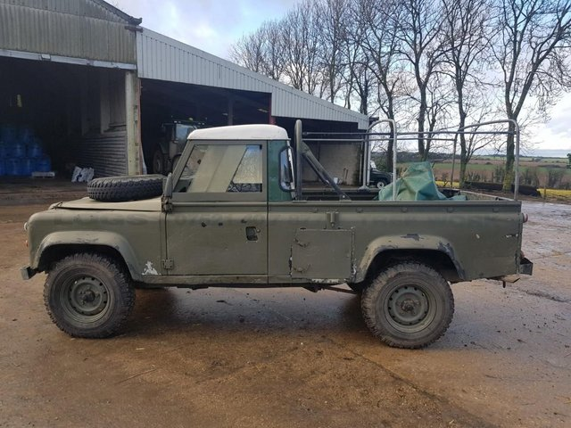 Image 8 of Land Rover 110 Soft Top & P/Up H/Top 1986 #108