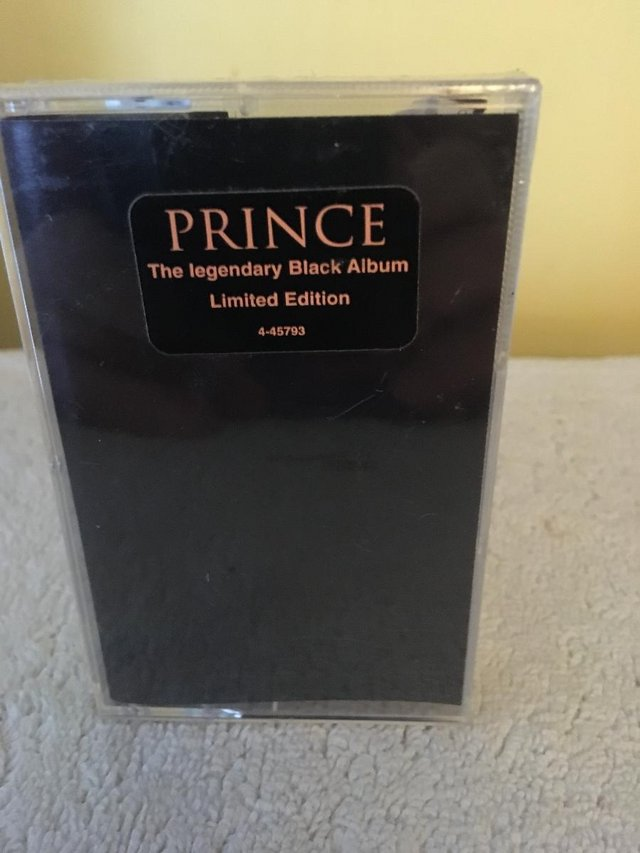 Preview of the first image of The Black Album by Prince.