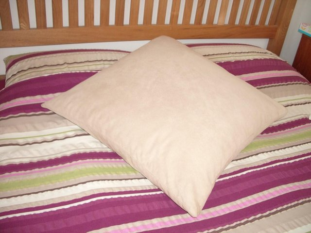 Preview of the first image of Jonelle Duck Feather Square Pillow 60cm x 60cm, IMMACULATE.