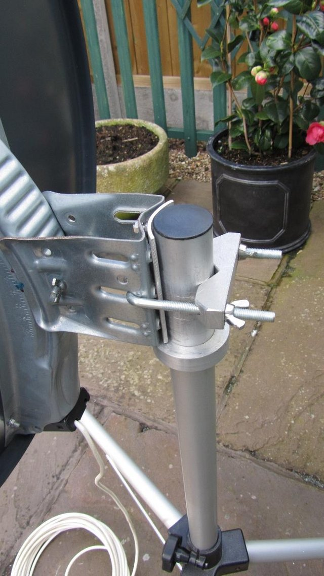Image 2 of Satellite Dish and Tripod Stand
