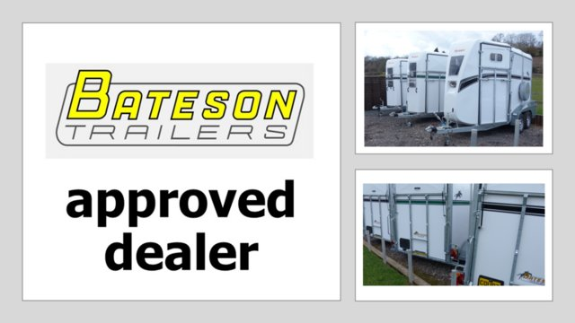 Preview of the first image of Bateson Deauville Horse Trailer Order now for 2022.