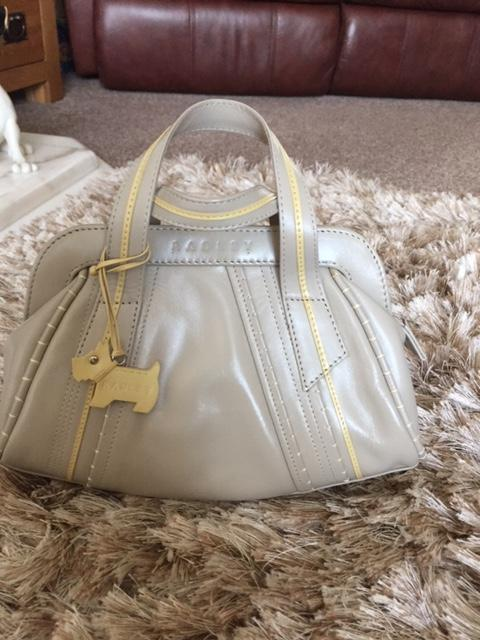 Preview of the first image of Radley Leather handbag/Grab Bag.