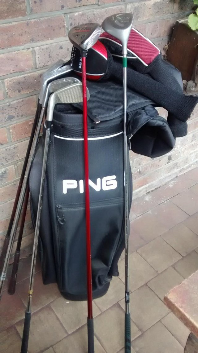 Image 2 of As new Ping explore golf bag and clubs