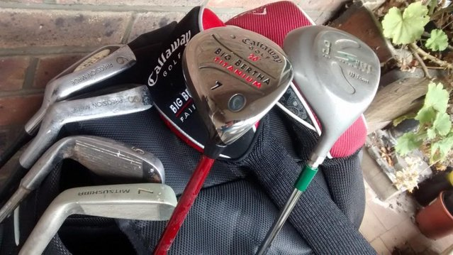 Image 3 of As new Ping explore golf bag and clubs