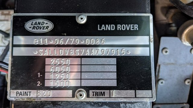 Image 10 of LAND ROVER DEFENDER 90 XS STATION WAGON #131