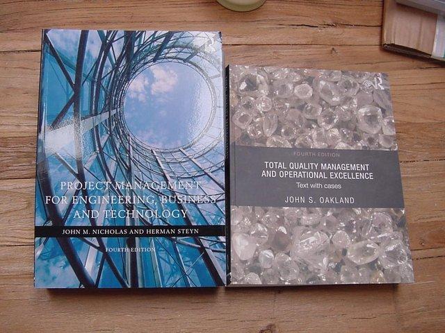 Image 2 of Project Management & TQM Books