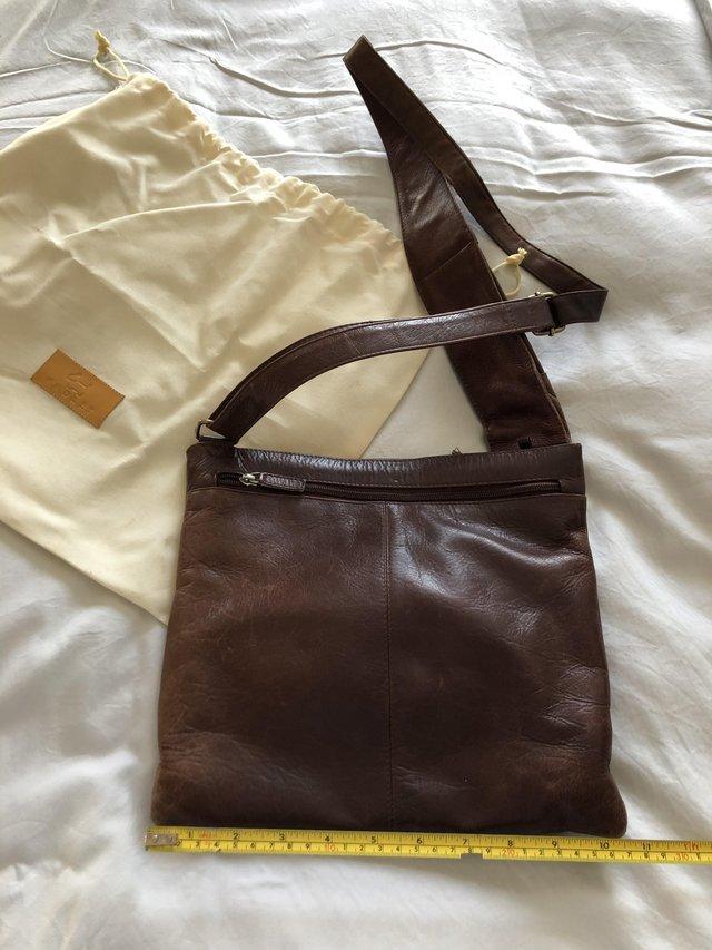 Image 2 of Brown leather Radley handbag