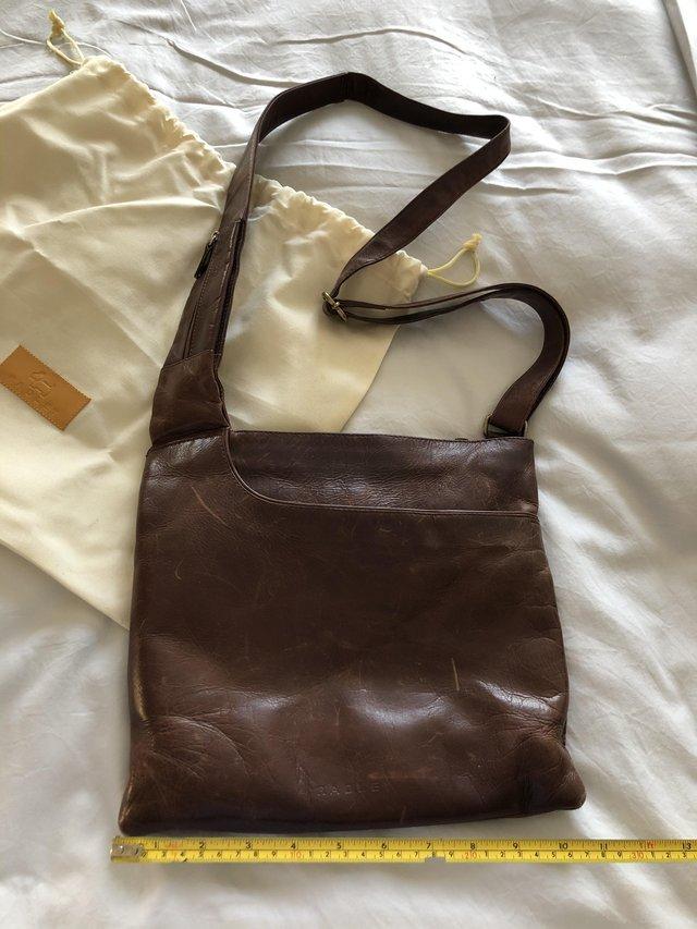 Image 3 of Brown leather Radley handbag