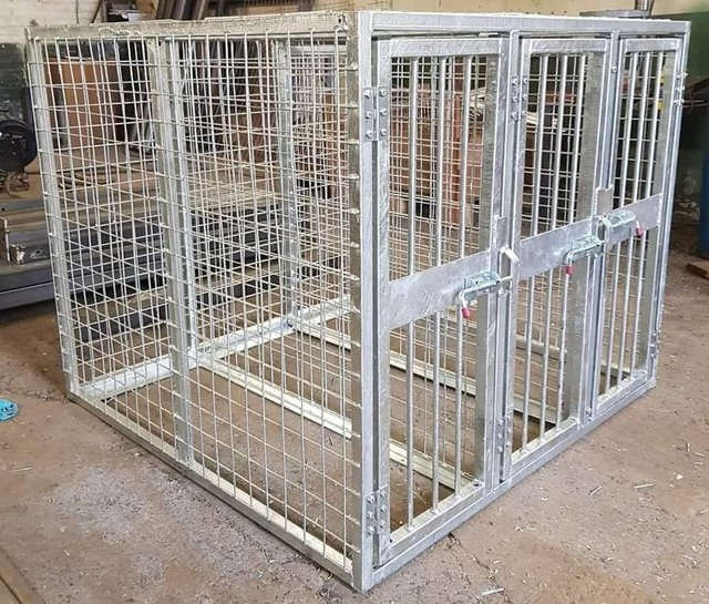 Image 12 of Top quality steel fabricated kennels/catteries/cages/runs