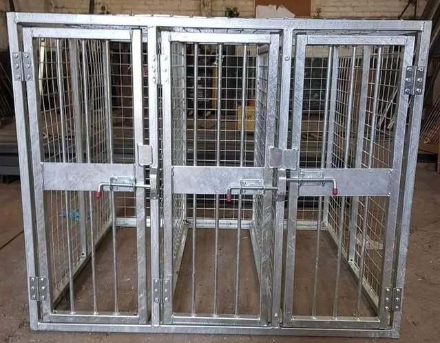Image 13 of Top quality steel fabricated kennels/catteries/cages/runs