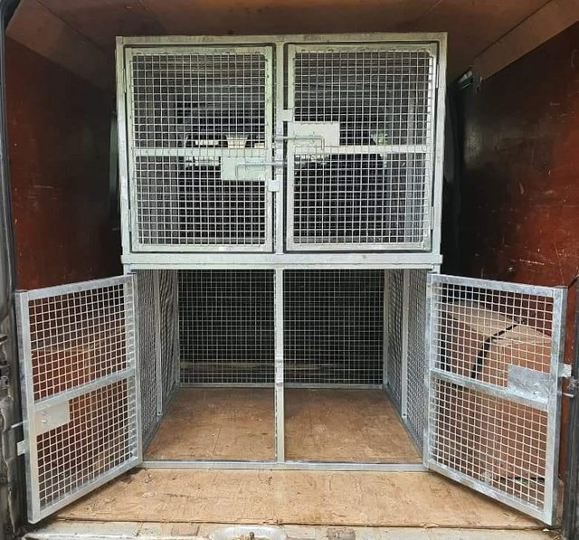 Image 18 of Top quality steel fabricated kennels/catteries/cages/runs