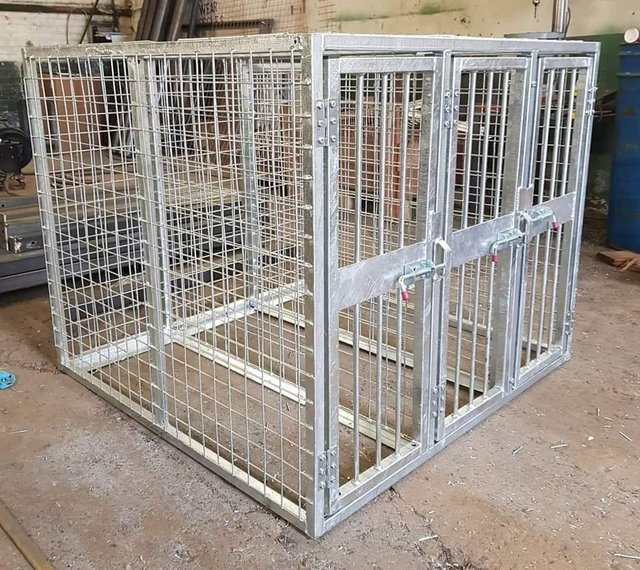 Image 25 of Top quality steel fabricated kennels/catteries/cages/runs