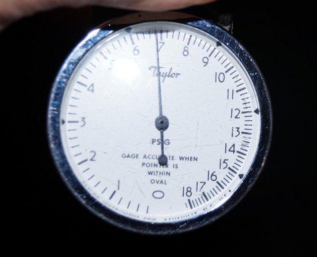 Image 4 of Taylor Instruments TK7115P 0-18psi air pressure calibrator