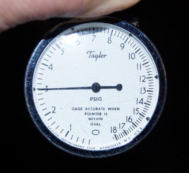 Image 5 of Taylor Instruments TK7115P 0-18psi air pressure calibrator