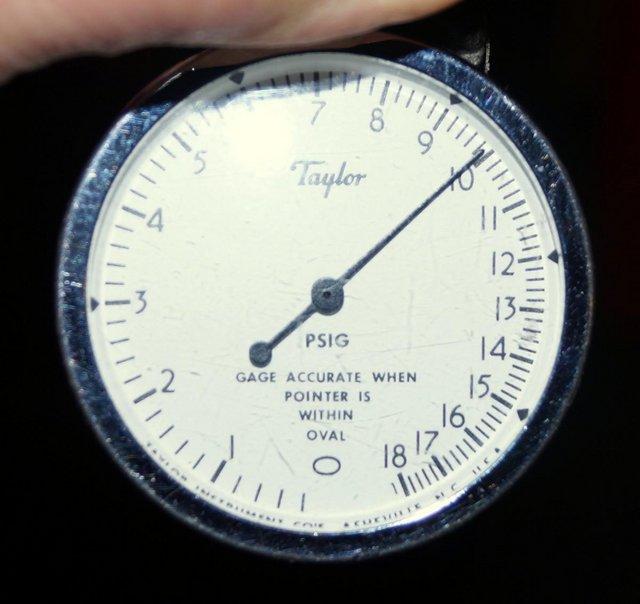 Image 7 of Taylor Instruments TK7115P 0-18psi air pressure calibrator