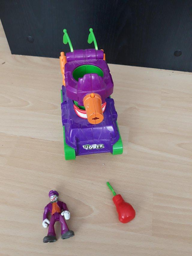 Image 3 of Imaginext Joker Vehicles