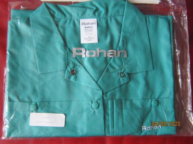 Preview of the first image of Rohan Safari Shirt.