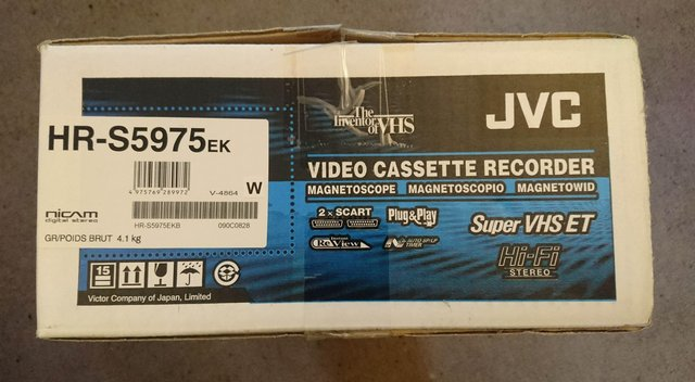 Image 2 of JVC HR-S5975EK S-VHS VCR