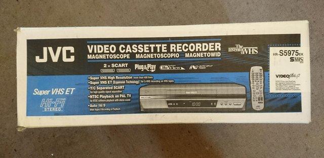 Image 3 of JVC HR-S5975EK S-VHS VCR