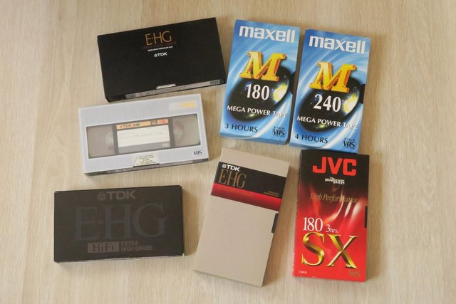 Preview of the first image of Assorted good quality VHS Tapes.