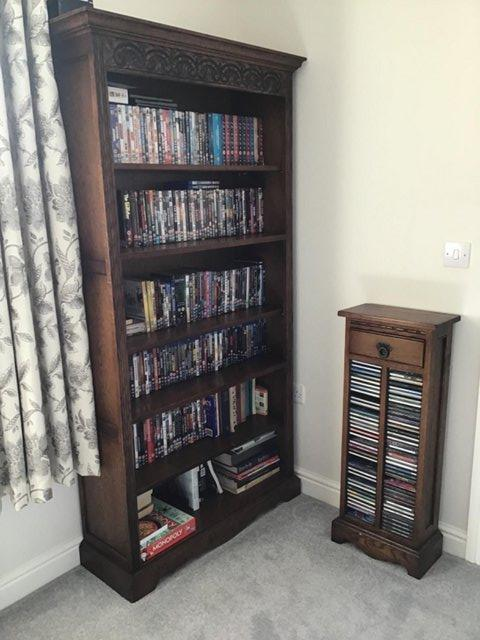 Preview of the first image of Old charm bookcase.