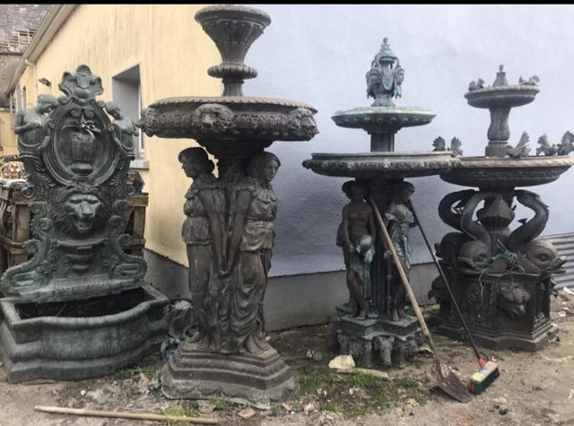 Preview of the first image of LARGE BRONZE FOUNTAINS.