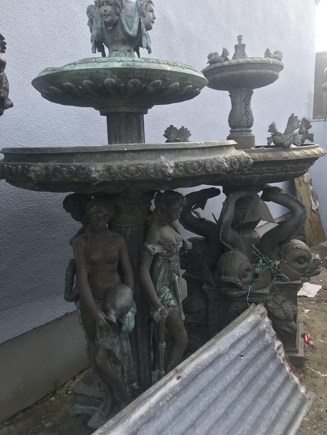 Image 2 of LARGE BRONZE FOUNTAINS