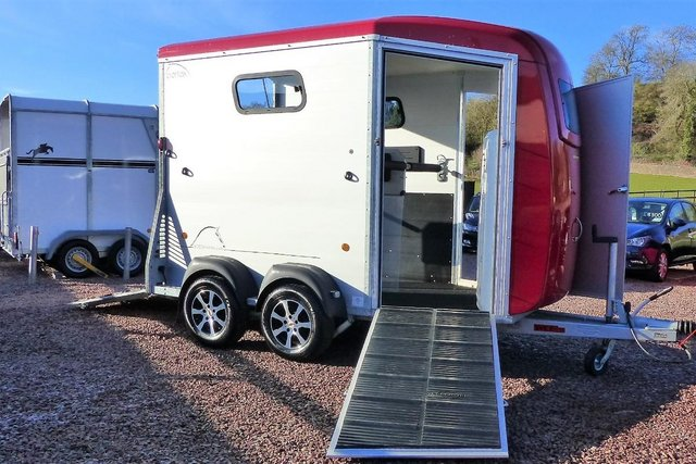Preview of the first image of Bockmann PortaxK Horse Trailer.