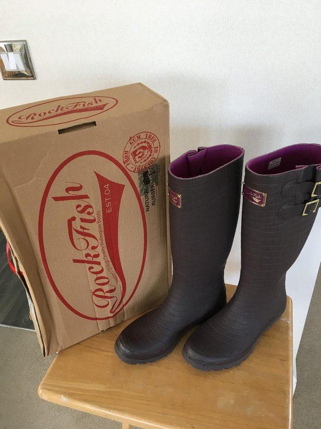 Image 3 of AS NEW! - Rock Fish High Quality - Wellington Boots