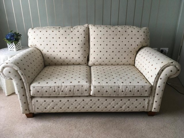 Preview of the first image of Multiyork Tate Ivory Two Seater Sofa.