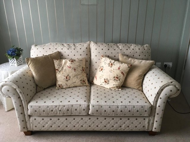 Image 2 of Multiyork Tate Ivory Two Seater Sofa