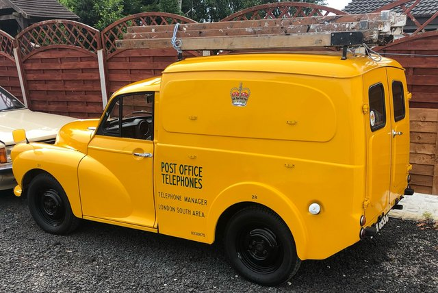 Preview of the first image of Feast your eyes !! Morris minor van !!.