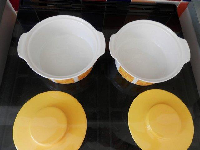 Image 2 of Retro Sunny Yellow Table Ware