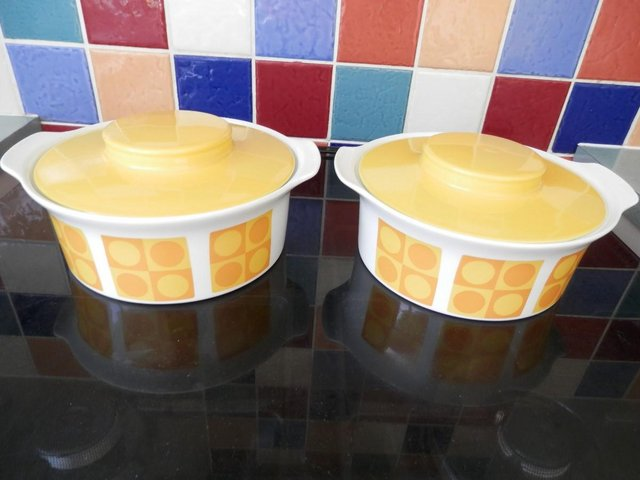 Image 4 of Retro Sunny Yellow Table Ware