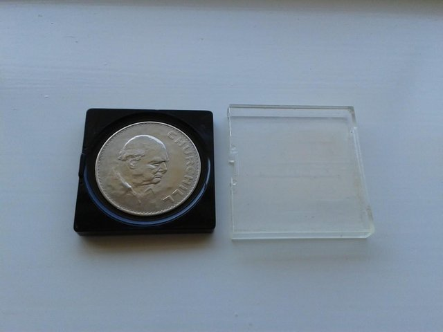 Preview of the first image of 1965 Great Britain Crown Coin KM# 910 (aFDC).