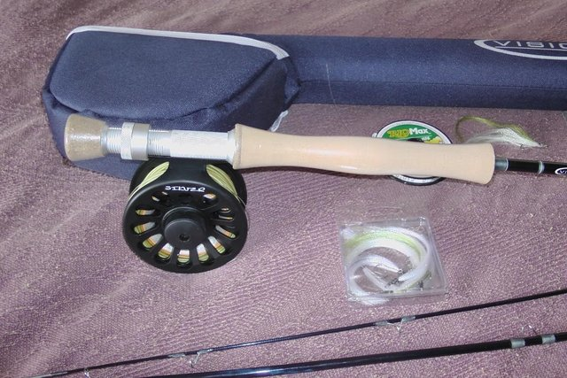 Image 2 of Vision Silver Fly Fishing Rig