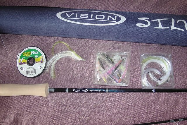 Image 4 of Vision Silver Fly Fishing Rig