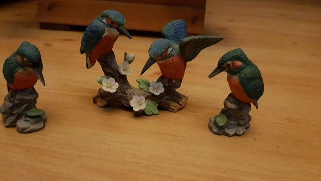 Preview of the first image of Beautiful Vintage Kingfisher Ornaments - Chatham.