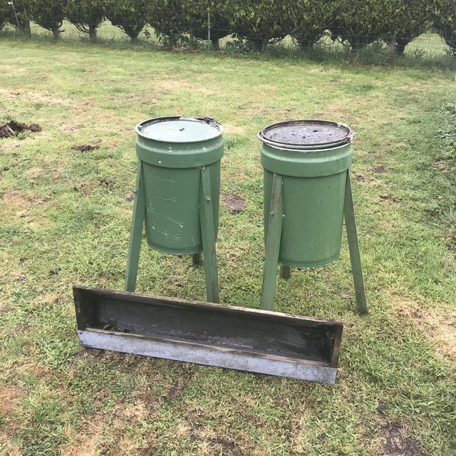 Preview of the first image of Pheasant feeders & Trough..