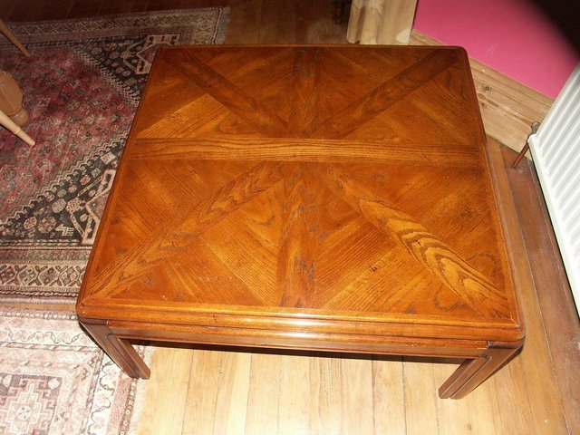 Image 2 of Large Solid Oak Coffee