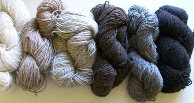Preview of the first image of 100% naturally coloured wool.