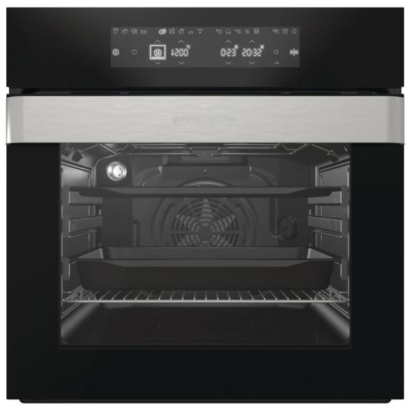 Preview of the first image of GORENJE SINGLE OVEN-65L JET BLACK-MULTIFUNCTIONAL OVEN-SUPER.
