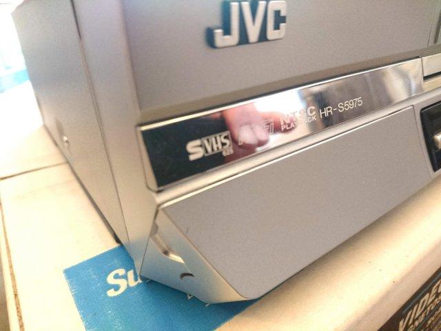 Image 8 of JVC HR-S5975EK S-VHS VCR