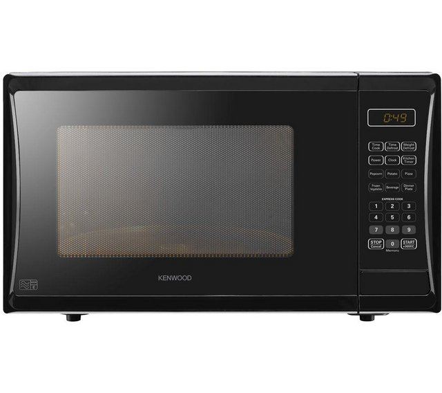 Preview of the first image of KENWOOD 25L-900W BLACK SOLO MICROWAVE-11 POWER LEVELS-NEW.