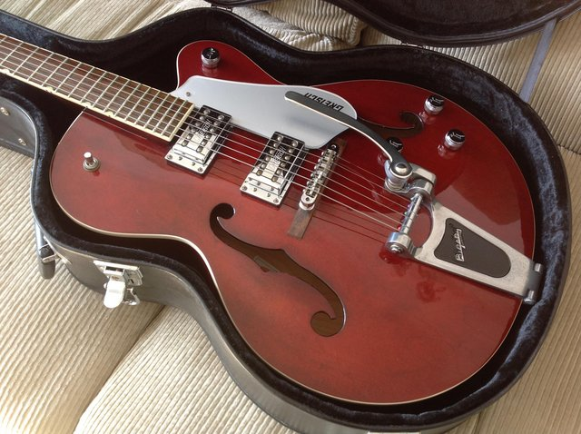 Image 6 of Gretsch G5120: walnut with hard case