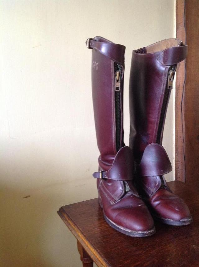 Image 2 of MENS HANDMADE LEATHER POLO BOOTS