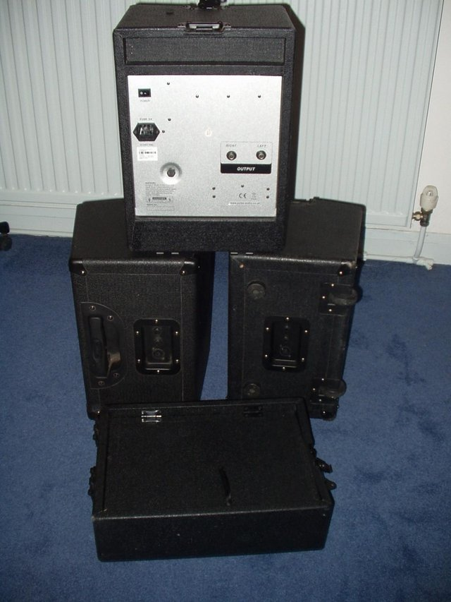 Image 3 of PULSE PA 150 MP3 Portable PA System