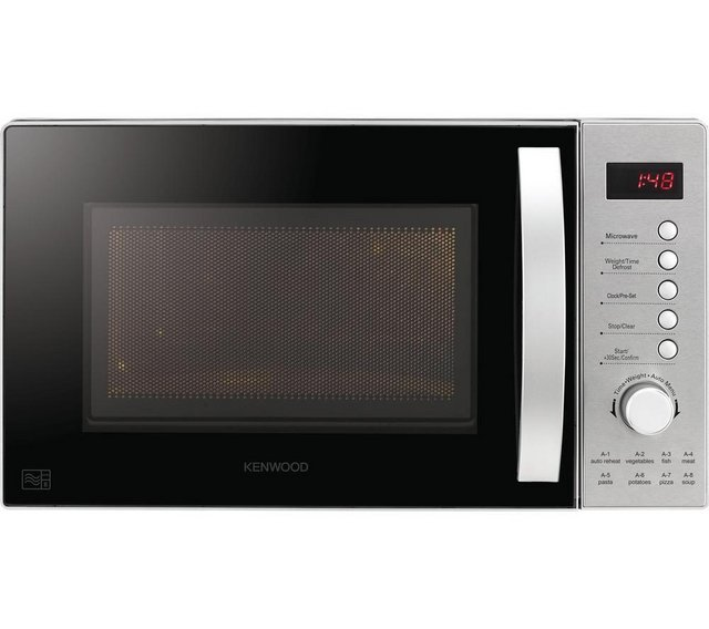 Preview of the first image of KENWOOD 20L SOLO MICROWAVE-800W-S/S-8 PROGRAMMES-NEW BOX.